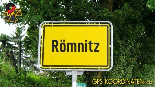 Einfahrt nach Römnitz {von GPS-Koordinaten mit GPS-Koordinaten.com und Breiten- und Längengrad