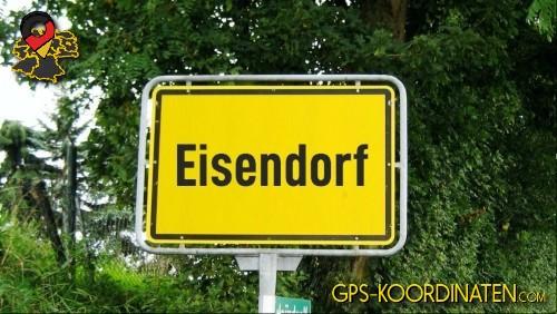 Verkehrszeichen von Eisendorf {von GPS-Koordinaten|mit GPS-Koordinaten.com|und Breiten- und Längengrad