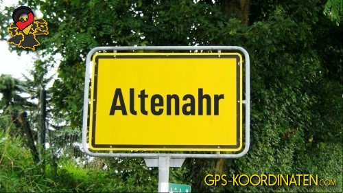 Einfahrt nach Altenahr {von GPS-Koordinaten|mit GPS-Koordinaten.com|und Breiten- und Längengrad